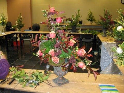 20091027 Recyclage Traditionele Bloemsierkunst 12