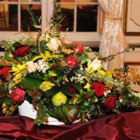 """17/11/2011: Kersttentoonstelling: Bloemen en kunst """" Kerst in het Osterrieth huis"""""""