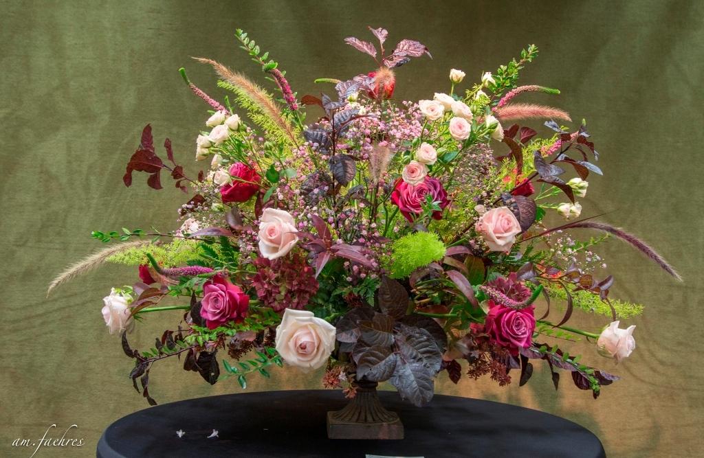 2017 RBAFS Royal Belgian Flower Arrangement Society