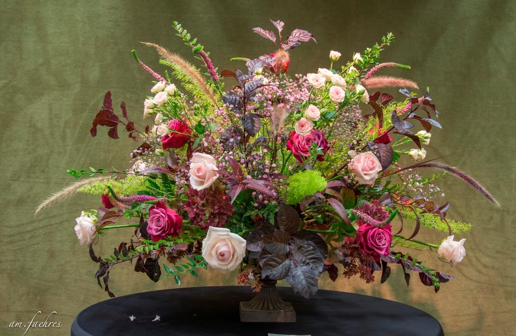 2017 RBAFS Royal Belgian Flower Arrangement Society