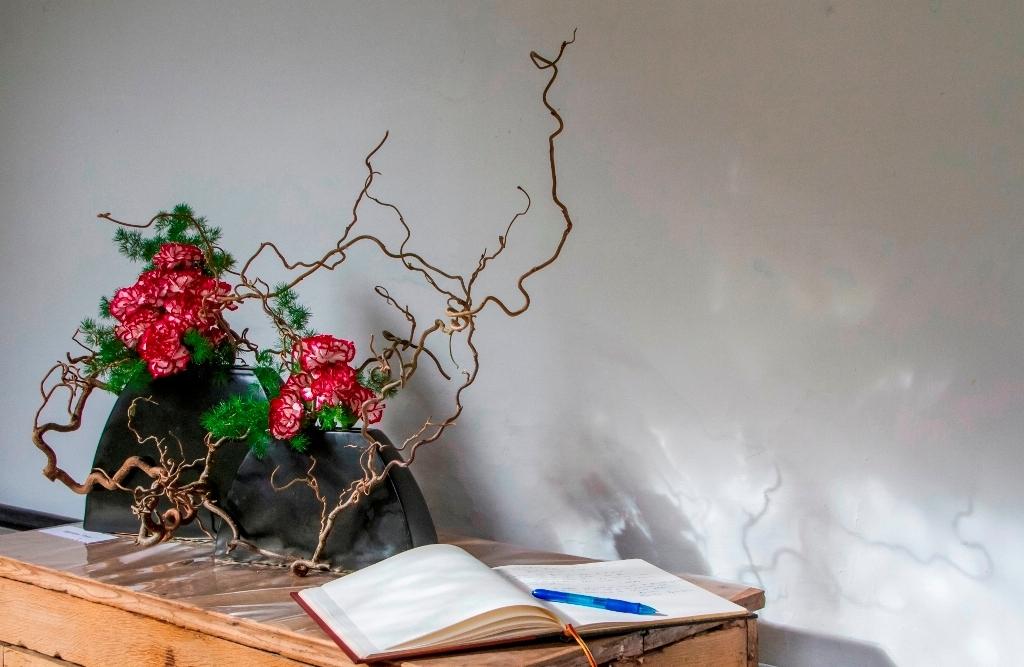 Publicité RBAFS Royal Belgian Flower Arrangement Society