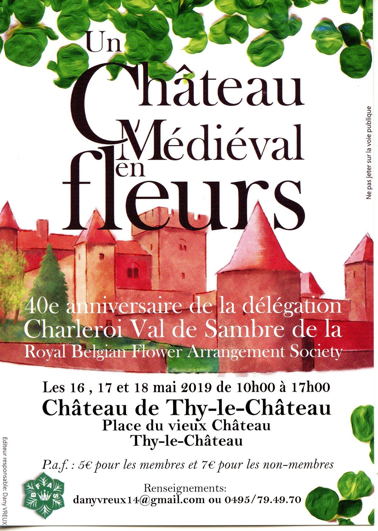 40e anniversaire de la délégation Charleroi Val de Sambre